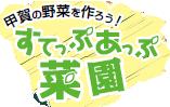 平成28年4月 ショウガの栽培にチャレンジ!