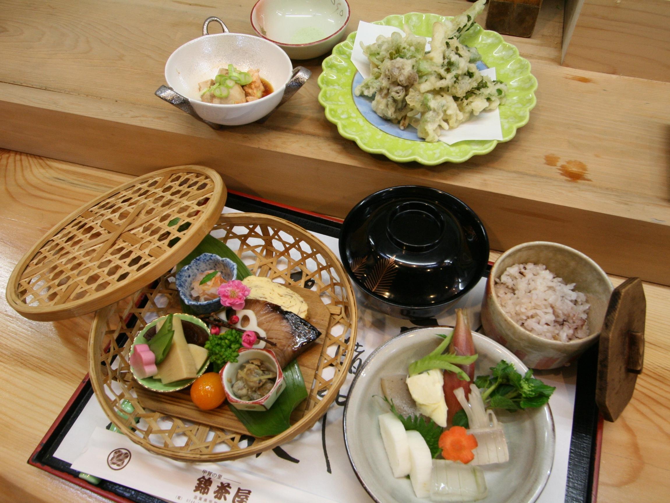 甲賀の里 錦茶屋