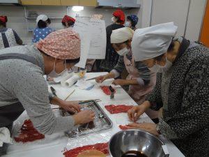 おせち料理教室開催 4つのメニューに挑戦